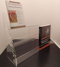 3 Tier Acrylic DVD & CD Rack