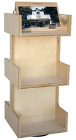 3 Tier Wood Souvenir Merchandiser
