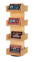 4 Tier Wooden Souvenir Display