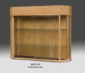 6 Sided Wooden Glass Wall Case
