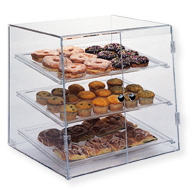 Bakery Display Case - Large - Three Tier - Self Serve