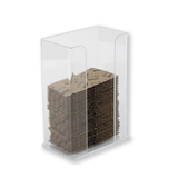 Coffee Cozy Dispenser - Clear
