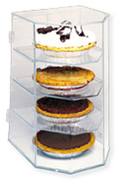Bakery Pie Display Case - Four Tiered