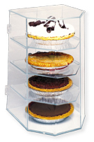 Counter Pie Display Case - Holds 4 Pies
