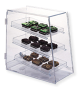 Narrow Countertop Display Case for Pastries