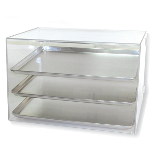 Countertop Bakery Display Cases : Pan Acrylic Display - Holds 3, Countertop Acrylic Bakery Display Cases ...