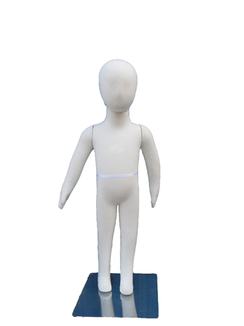"Flexible Child Mannequin Three Year Old Model - 33"" H"