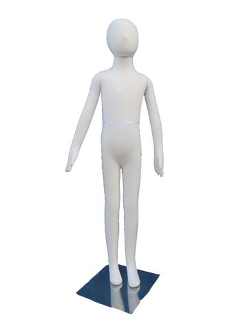 "Flexible Child Mannequin Nine Year Old Model - 50"" H"