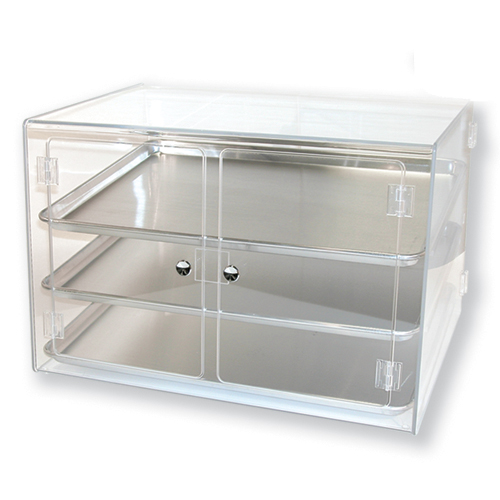 Metal Sheet Pan Display Case for Pastry Use