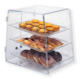 Plastic Display Case for Baked Goods - Three Tier