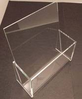 Freestanding Counter Brochure Holder, available in 3 Sizes