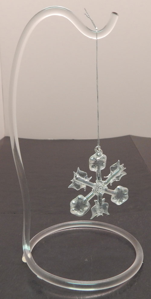 Curved Acrylic Ornament Stand - Available in 2 Sizes
