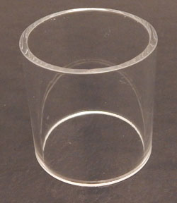 Acrylic Pedestal Cylinders - Available in 4 Sizes