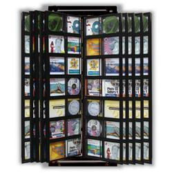 140 Cd Wall Mount Display Frame 1 Per Box Wire Floor