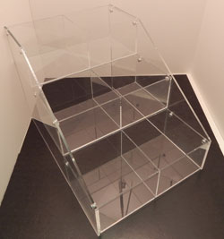 3 Tier Acrylic CD Holder