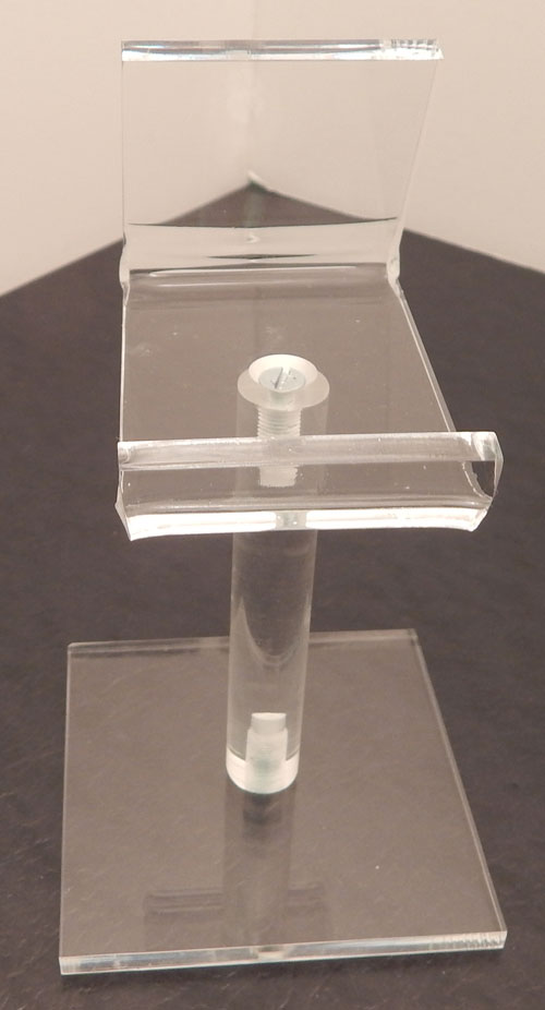 Acrylic Cell Phone Pedestal Easel - Available in 3 Heights