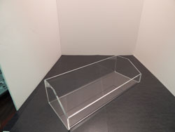 Deluxe Countertop Acrylic Tray w/ Slant Sides