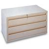 Retail DVD Storage Cabinet with 3 Drawers - 1 per box