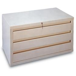 retail dvd storage cabinet with 3 drawers 1 per box - Dvd Storage Cabinet