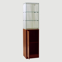 "72"" Full Vision Tower Display Case"