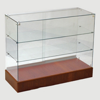 Frameless Glass Display Case For Retail - Full Vision