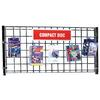 Gridwall Panel for Media Browsing Units - 1 per box