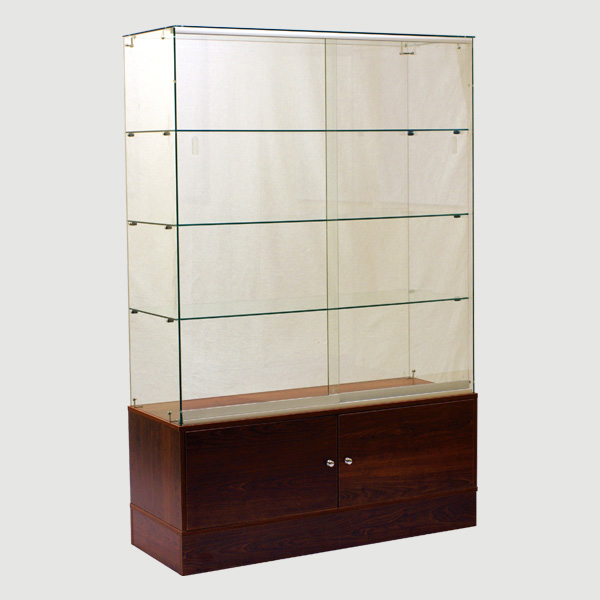 Glass Wall Cabinet For Retail Store - Half Vision
