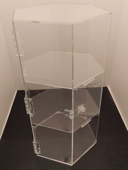 Hexagon Acrylic Display Case