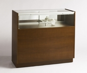 Quarter-Vision Glass Jewelry Display Cases - Available in 4 Widths