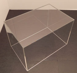 5 sided Wide Acrylic Display Box