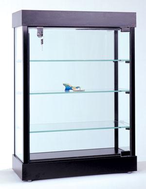 Rectangular Locking Cabinet Display
