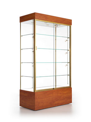 Rectangular Trophy Cabinet, Available in 2 Widths