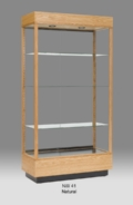 Rectangular Wide Tall Display Case