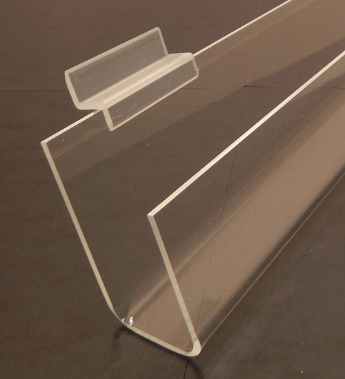 Slatwall Acrylic Greeting Card Racks - Available in 4 Sizes