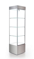 Square Tower Trophy Cabinet