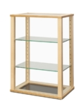 Tall Wood Rectangular Display Case