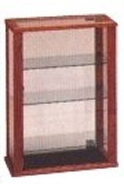 Tall Wooden Rectangular Countertop Display Cabinet Counter Displays Achieve