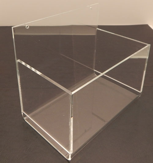 Acrylic Hosiery Bin, Single or Double Pocket