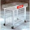 Wire Dump Table Display with Locking Casters - 1 per box