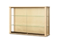 Wood Wall Display Cabinet
